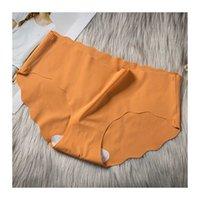 reliable factory direct supply medium waist ice silk underwear sexy thin women's briefs