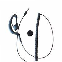3.5mm G- 링 모양 이어 - 후크 수신 이어폰 이어폰 이어폰 헤드셋 스피커 마이크 icom Kenwood NX200 TK-2140 TK-2180 용 마이크