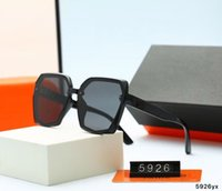 5926 جودة عالية أزياء مصمم ماركة نظارات شمسية للرجال والنساء السفر التسوق UV400 حماية الرجعية ظلال الطيار