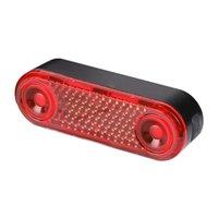 Bike Lights LED Luggage Rack Taillight USB Charging Bicycle Rear Seat Reflective Outdoor Night Ridding Safety Warning Lantern