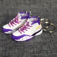 2021 3D Sportschuhe Schlüsselanhänger Nette Basketballschlüsselkette Auto Schlüssel Tasche Anhänger Geschenk Viele Farbe