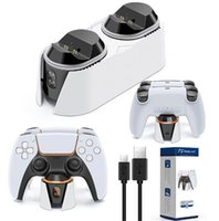 For ps5 Charger game Controller fast Charge station Dual charging Dock LED super Playstation 5 accessories