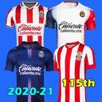20 21 Liga MX ثالث Chivas Guadalajara 115th Anniversary Soccer Jersey 2021 الصفحة الرئيسية Brizuela 3rd Football CHirt Pulido Camiseta de Futbol