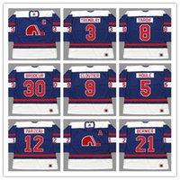 Custom J.C. Tremblay Quebec Nordiques 1970er Jahre WHA Hockey Jersey Vintage Serge Bernier REJEAN HOULE Echt Cloutier Aubry K1 Sportswear Jeder Name Nummer S-5XL