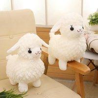 La sensación de simulación será llamada dios bestia alpaca muñeca peluche juguete de dibujos animados pequeño oveja empresa evento de cumpleaños infantil regalo