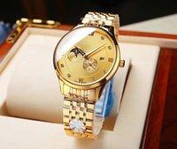Mens Uhren Luxus Kalanderuhr Datum armbanduhr Automatische mechanische Bewegung Wasserdichte Saphirglasspiegel Gute Qualität Business Fashion Classic