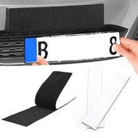 4 teile / set Klebstoffnummer Plattenhalter wetterfestes langlebige rahmenlose Kennzeichenhalter für Fahrzeuge Autozubehör