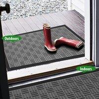 Carpets Est Outdoor Indoor Doormat Entrance Rug Front Door Mat Patio Anti-skid Rubber Floor Mats With Rubbers Backing