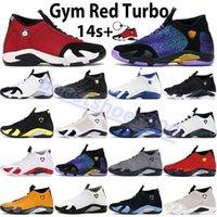 Yeni 14 14 S Basketbol Ayakkabı Spor Salonu Kırmızı Toro Hiper Kraliyet Üniversitesi Altın Terra Allık Son Shot Indiglo Thunder Erkek Kadın Spor Açık Sneakers