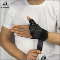 Muñeca Safety Atlética Atlética Como Deportes Outdoors Support Support FDBRO Protector de fractura ajustable Artritis Esguince Banda fija Thumb Steel