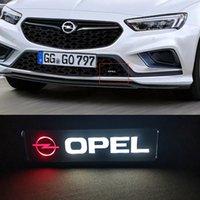 Rozeti Amblem DRL Gün Koşu Işık Hood Izgara Izgara Bonnet Opel Astra Insignia Corsa Mokka Zafira Lada Lama Lamba Lamba