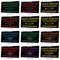 LX1256 Your Names Random Collectables Restorations Light Sign Dual Color 3D Engraving