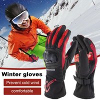 Cycling Gloves 100% Waterproof Winter Windproof Outdoor Sport Ski For Bike Bicycle Scooter Motorcycle Keep Warm Glove