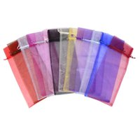 100pcs 15*37cm High Quality Organza Wine Bottle Bags Jewelry Wedding Party Candy Christmas Gift Pouch
