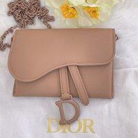 new women's bean paste powder Mini saddle waist bag th31050610