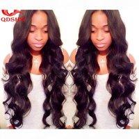 موجة الجسم شعر الإنسان U جزء شعر مستعار للنساء السود الجزء الأوسط غلويليس الجسم موجة u-part الباروكات preplucked العذراء بيرو upart الباروكة