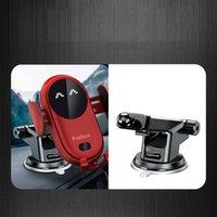 S11 الذكية الاستشعار الأشعة تحت الحمراء شاحن اللاسلكية سيارة الأوتوماتيكية حامل الهاتف المحمول شواحن قاعدة مع شفط كأس جبل لفون 12 11 × 8Plus سامسونج غالاكسي S9 S8 S7 S6 إلخ.