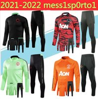 2021 Pogba 축구 Tracksuit Surveetement 20 / 21Alexis Lukaku de Foot Lindelof United Rashford Jacket Training Suit Sportwears S-2XL