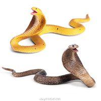 Party Masks Realistic Simulation Rubber Snake Toy Garden Lifelike Joke Prank Gift Halloween Props O30 20 Drop