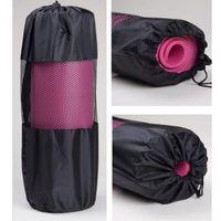 6mm rutschfeste Yogamatte Net Taschen Tragbare Gürtel Ventilation Pull Seil Seal Lengthen Nets Taschen Bewegung Knapsack