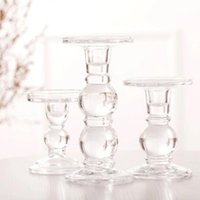 Crystal Glass Candle Holder Candlestick Wedding Centerpieces Tables Candelabra Nordic Decoration Home Moro Regime Geometric Art Holders