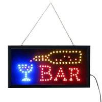Night Lights Outdoor Lighting Led Cocktail Bar Pub Club Shop Sign Signs Neon Display Window Hanging Light Decoration Nightlight