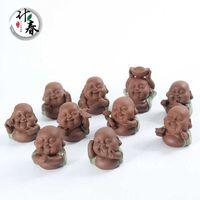 Sabbia viola Maitreya Buddha Hall Ge Kiln Pet boutique può aumentare la decorazione dello spazio del tè del gioco aperto