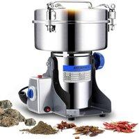 Molillas de café eléctricas 2000g Tipo de swing de alimentos Seco Grinder Granos de polvo Miller Miller Harina Especias Cereales Crusher