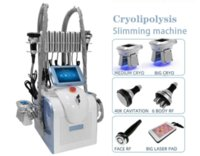 2021 Portable Cryolipolysis Fat Freezing Slimming Machine Vacuum Adipose Reduction Cryotherapy Cryo Weight Loss Equipment LLLT Lipo Laser Home Use