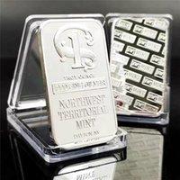 50 adet Amerikan Prespector 999 Değer Güzel Gümüş Külçe Bar Zanaat ABD Uanorthwest Toprak Nane Dayton NV 1oz Metal Sikke Tahsil
