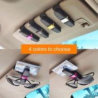 Interior Decorations Car Glasses Case Auto Sun Visor Holder Sunglasses Clip Card Fastener Vehicle Accessories