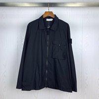 TopStoney Compass Мужская куртка повязка повязки повязки на молнию куртки рубашки с молниейкой Высококачественная бренд Пальто повседневной улицы Jackets1 Fashion Hombre