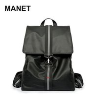 Designer Backpack Mens Bookbag Nylon Waterproof Laptop Computer Bags For Men Black Causal Leather Ita Bag Fashion Mochila