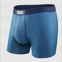 SAXX Shorts Designer Mens Underwear VIBE BModern Fit ULTRA Boxer Briefs with Built-In BallPark Pouch Support Mans Shorts North American size