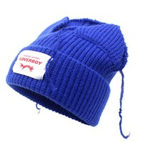 LDSLYJR 2021 Autumn and winter Acrylic Solid Color Thicken knitted hat warm hat Skullies cap beanie hat for men and Women 131