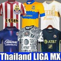 2021Liga MX 21 22 Club America Soccer Jerseys Leon Third Third 2021 2022 Camisetas Tijuana Tigres Unam Chivas 115th 115 سنة Kit Cruz Azul 3rd Kid