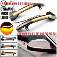 Emergency Lights 2x For 5 6 7 Series F10 F11 F07 F06 F12 F13 F01 Dynamic Turn Signal LED Rearview Mirror Indicator Blinker Ligh