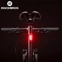 Rockbros Rücklicht Fahrrad Mini Helm Licht MTB Rennrad Fahrrad Warnung Rücklicht Wasserabweisende Hängende Laufleuchten