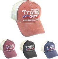 NEWNEWPresidential Election Party Hats Trump 2024 Baseball Caps Men Women Sports Keep America First Letter Peaked Cap Hip Hop Head Wear EWD6