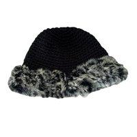 Caps & Hats Winter Russian Natural Rex Fur Hat Women Elastic Warm Soft Handmade Knitted Bomber Beanies