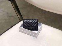 Projeto de alta qualidade carteiras Sly clip clip moeda dupla hasp wallet cartões de dobra o titular de passaporte mulheres chaveiro bolsa bolsa com caixa