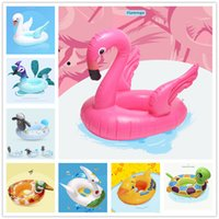 Child's Swimming pool inflatable flamingo Peacocks floats Floating island Water air mattress Raft pvc bed Swim Pools Beach Toy For Children