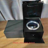 熱い販売最高品質ハブの腕時計オリジナルボックスペーパーカード透明ガラス木材ギフトボックスハンドバッグキングパワーHUB4100 2892
