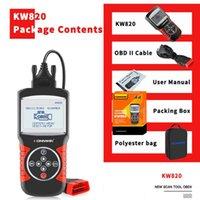 코드 판독기 스캔 도구 MS509 업그레이드 버전 Konnwei KW820 OBD2 EOBD 자동차 엔진 오류 스캐너 진단 장비 탐지기 테스트 온 - 멧돼지