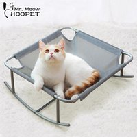 Catillas de gato Muebles Hoopet Basket Bed House Kennel para perros Puppy Home Durming Teddy Cómodo Pet Supply