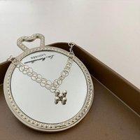 Charm Bracelets Origin Summer Minimalist Silver Color Round Bead Cross Bracelet For Women Delicate Hollow Out Chain Jewellery
