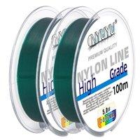 LINE LINE 100M Многоцветная многоцветная многоцветная нейлоновая резьба рыболовный хайган прозрачный цветной инструмент главный подна