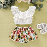 Baby Girl Summer Clothes Set 2021 Born Sunflower For Babies Costume Outfits 2pcs Infant Sets Clothing