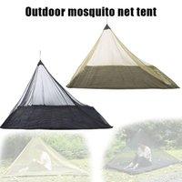 Barraca de malha dobrável da luz da rede do mosquito resistente com insetos para o acampamento único montanhismo exterior do alpinismo do montanhismo e abrigos