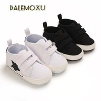 Athletic & Outdoor Star Canvas Shoe Baby Boy Girl 1 Year Infant Born Toddler Flat Sport Cotton Non-slip Soled Sneakers Fashion Casual Soft S